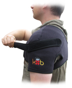 All King Brand Shoulder Ice Packs and Wraps have an Accessory Strap Included for More Compression